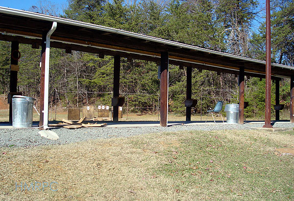 Hickory Mountain Rifle and Pistol Club shooting range.