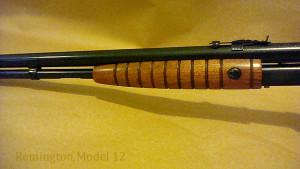 Remington 12 shotgun restoration.