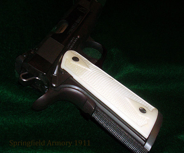 Springfield 1911 with beavertail grip safety.