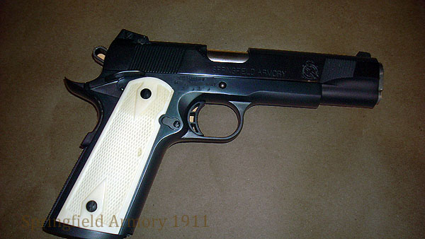 Springfield 1911 with Kart custom barrel.