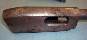 Remington Model 12 Rife before restoration.